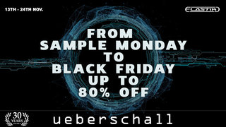 ueberschall-sample_monday_to_black_friday_sale